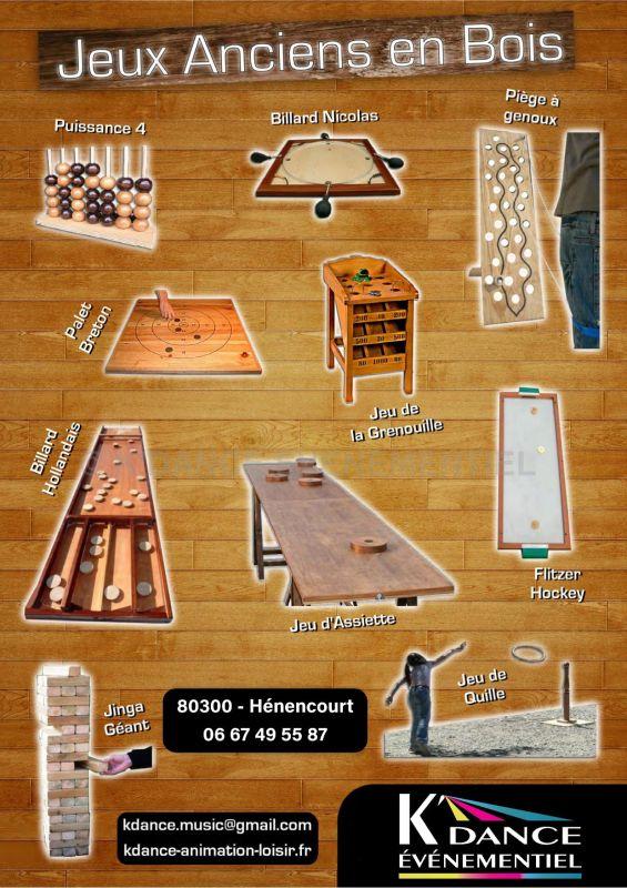 Location jeux traditionnels en bois Bapaume (62)